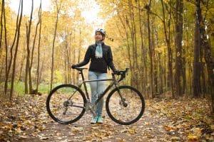 Radtour mit Design Fahrradhelm