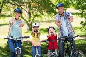 Fahrradhelme für die gesamte Familie