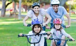 Fahrradhelme für die ganze Familie