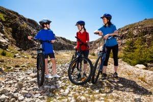 MTB-Helme für Klein und Groß