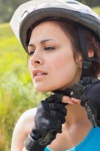 BMX- Helm richtig justieren